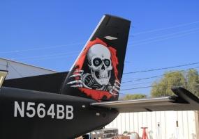George's plane