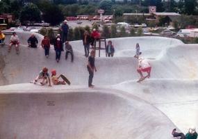 Soquel skate park.