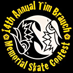 Tim Brauch memorial skateboard contest