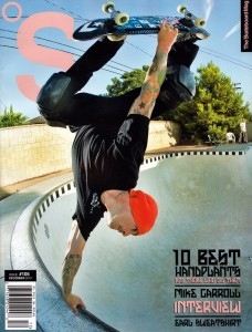 Jason Jessee The Skateboard Mag Cover