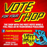Santa Cruz Shop Contest
