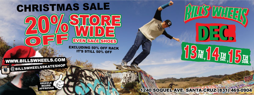 Bill's Wheels Christmas SALE