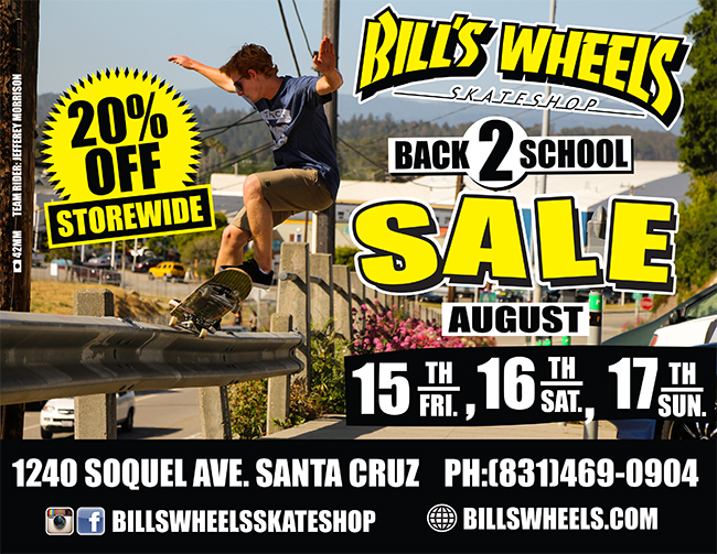 Back To School Sale Aug 15, 16, 17