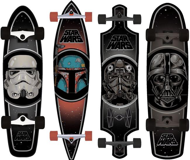 Star Wars Long Boards