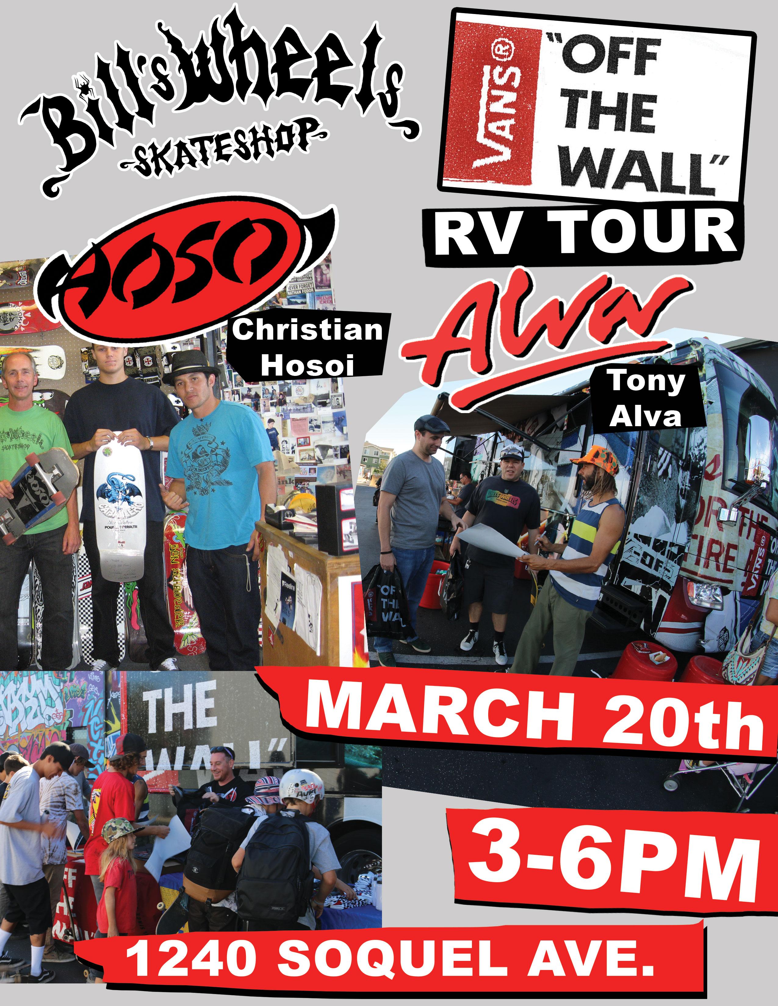 Vans RV Tour