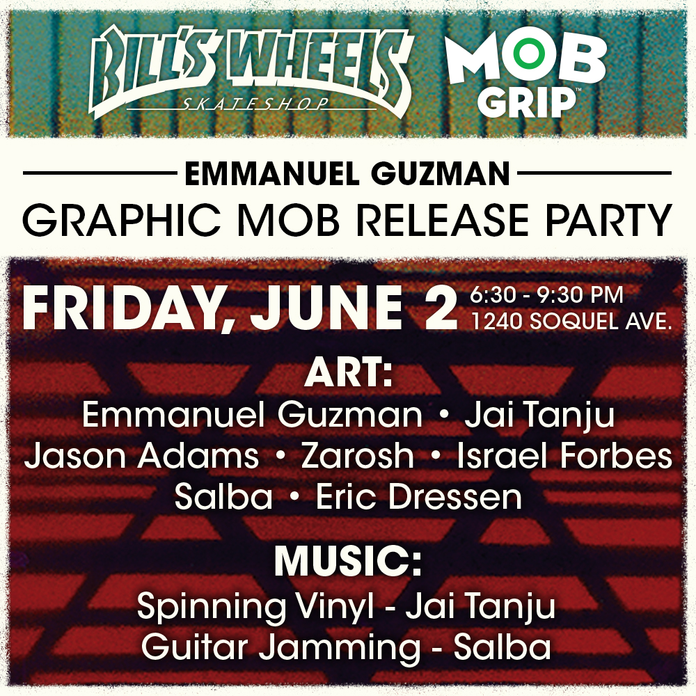 Eman's Mob Grip Graphic Release Party June 2
